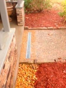 sidewalk drainage
