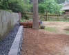 Retaining Wall with Gravel AR